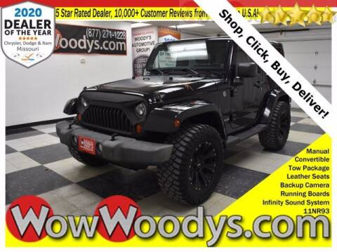 2011 Jeep Wrangler for sale at WOODY'S AUTOMOTIVE GROUP in Chillicothe MO