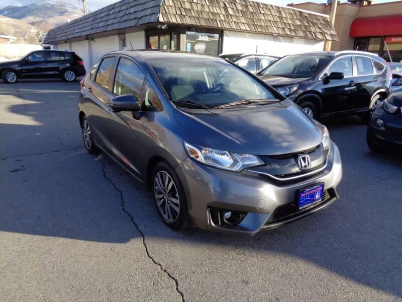 2015 Honda Fit for sale at Autobahn Motors Corp in Bountiful UT