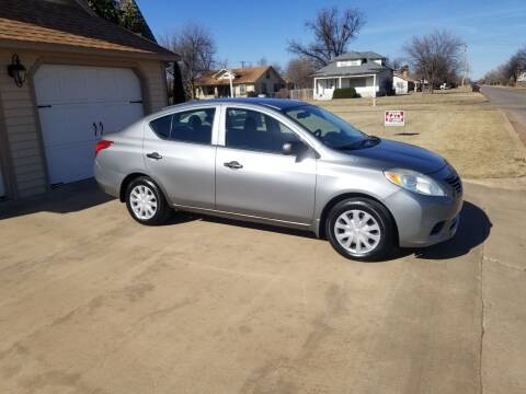 2012 Nissan Versa for sale at Eastern Motors in Altus OK