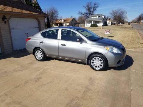 2012 Nissan Versa for sale at Eastern Motors in Altus OK