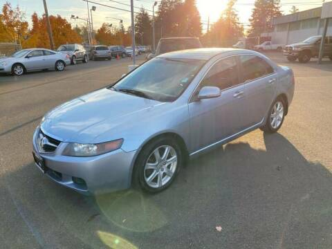 2005 Acura TSX for sale at TacomaAutoLoans.com in Tacoma WA