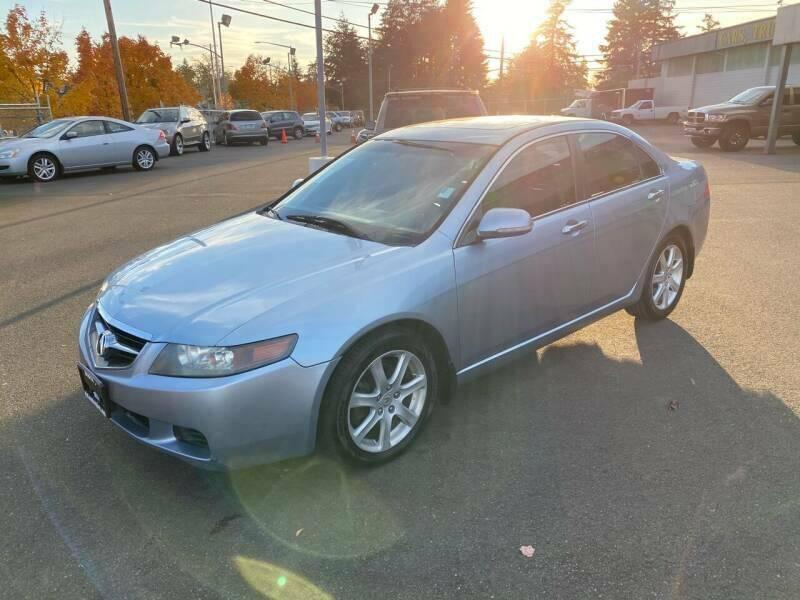 2005 Acura TSX for sale at TacomaAutoLoans.com in Tacoma WA