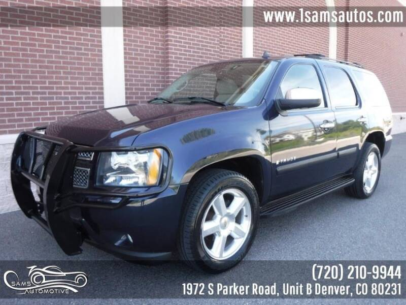 2007 Chevrolet Tahoe for sale at SAM'S AUTOMOTIVE in Denver CO
