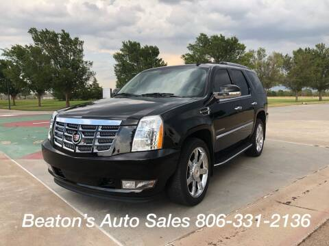 2010 Cadillac Escalade for sale at Beaton's Auto Sales in Amarillo TX