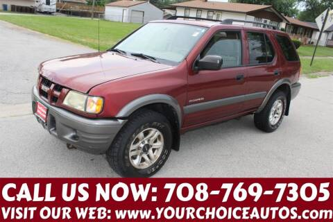 2003 Isuzu Rodeo for sale at Your Choice Autos in Posen IL