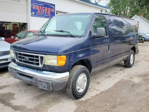 2003 Ford E-Series Cargo for sale at Ericson Auto in Ankeny IA