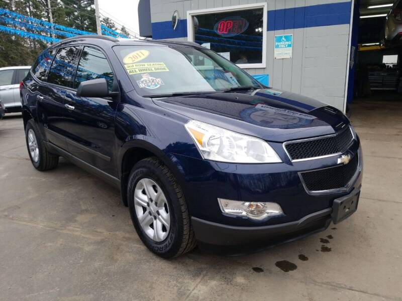 2011 Chevrolet Traverse for sale at Fleetwing Auto Sales in Erie PA