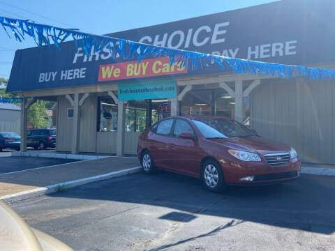 2008 Hyundai Elantra for sale at First Choice Auto Sales in Rock Island IL
