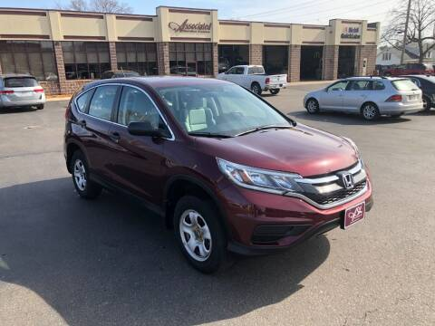 2015 Honda CR-V for sale at ASSOCIATED SALES & LEASING in Marshfield WI