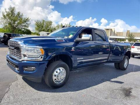 2022 RAM Ram Pickup 3500 for sale at PHIL SMITH AUTOMOTIVE GROUP - Joey Accardi Chrysler Dodge Jeep Ram in Pompano Beach FL