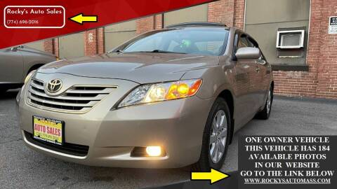 2007 Toyota Camry for sale at Rocky's Auto Sales in Worcester MA