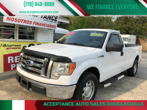 2010 Ford F-150 for sale at Acceptance Auto Sales Douglasville in Douglasville GA