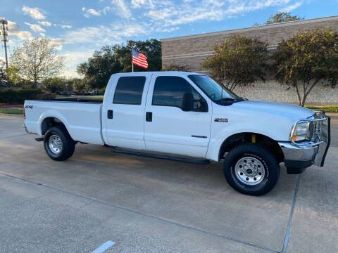 2001 Ford F-250 Super Duty for sale at Pitt Stop Detail & Auto Sales in College Station TX