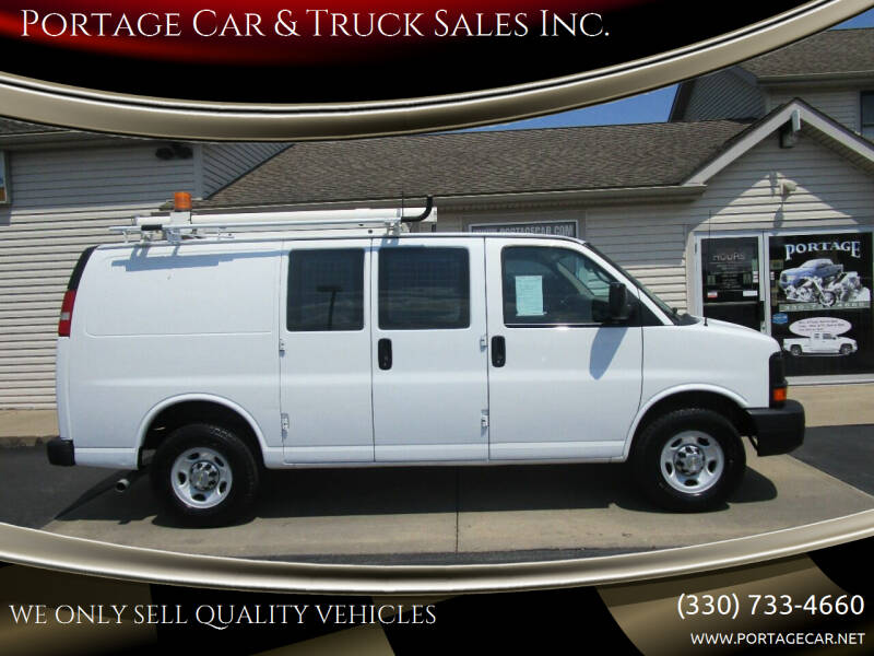 2012 Chevrolet Express Cargo for sale at Portage Car & Truck Sales Inc. in Akron OH