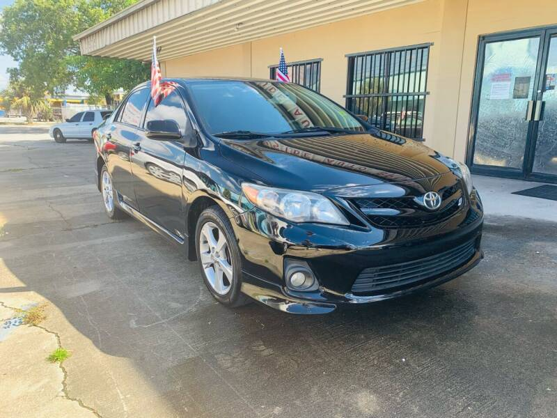 2011 Toyota Corolla for sale at Eastside Auto Brokers LLC in Fort Myers FL