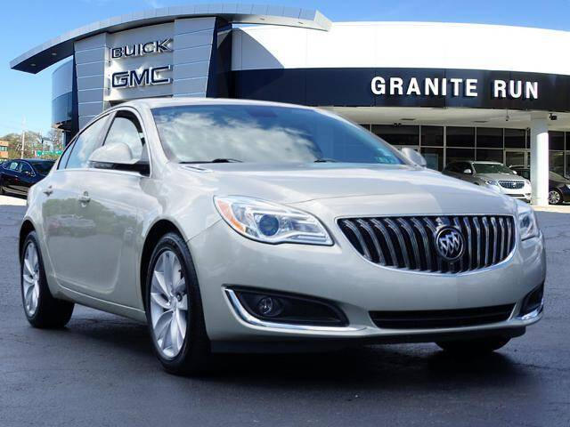 2015 Buick Regal for sale at GRANITE RUN PRE OWNED CAR AND TRUCK OUTLET in Media PA