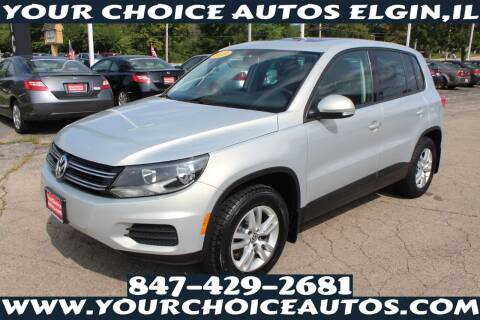 2013 Volkswagen Tiguan for sale at Your Choice Autos - Elgin in Elgin IL