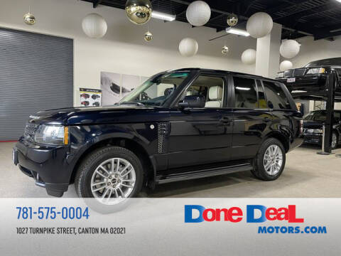 2012 Land Rover Range Rover for sale at DONE DEAL MOTORS in Canton MA