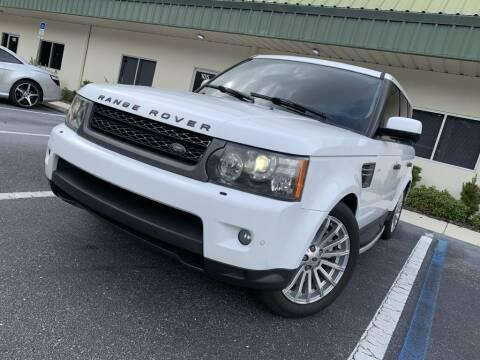 2011 Land Rover Range Rover Sport for sale at Fisher Motor Group LLC in Bradenton FL