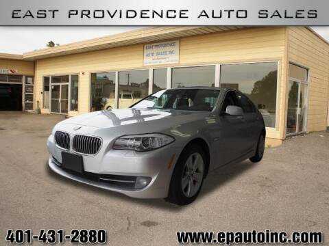 2013 BMW 5 Series for sale at East Providence Auto Sales in East Providence RI