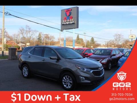 2018 Chevrolet Equinox for sale at Go2Motors in Redford MI