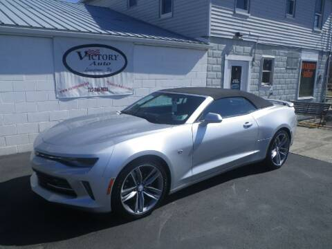 2018 Chevrolet Camaro for sale at VICTORY AUTO in Lewistown PA