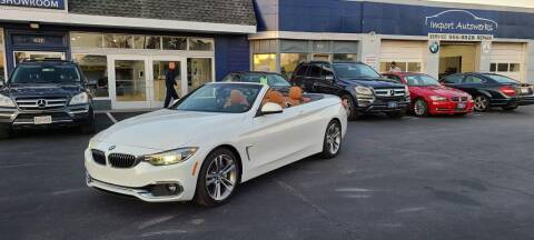 2018 BMW 4 Series for sale at Import Autowerks in Portsmouth VA