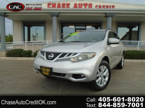 2014 Nissan Murano for sale at Chase Auto Credit in Oklahoma City OK