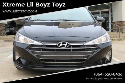 2019 Hyundai Elantra for sale at Xtreme Lil Boyz Toyz in Greenville SC