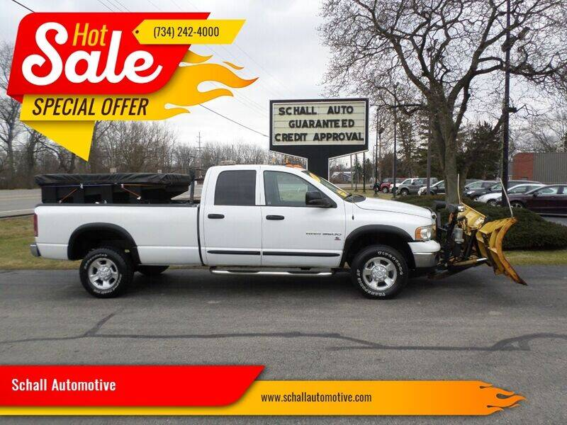 2005 Dodge Ram Pickup 3500 for sale at Schall Automotive in Monroe MI