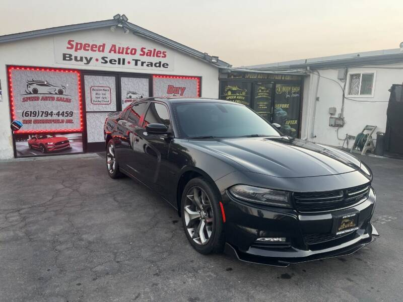 2016 Dodge Charger for sale at Speed Auto Sales in El Cajon CA