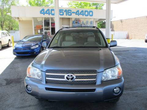 2006 Toyota Highlander Hybrid for sale at Elite Auto Sales in Willowick OH