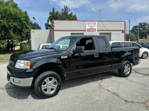2005 Ford F-150 for sale at Richland Motors in Cleveland OH