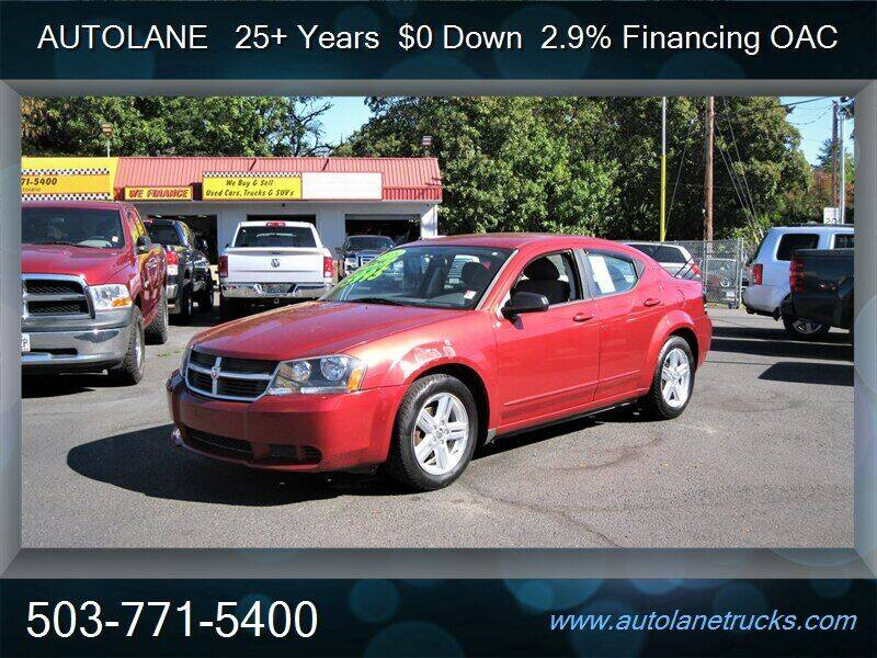 2008 Dodge Avenger for sale at Auto Lane in Portland OR