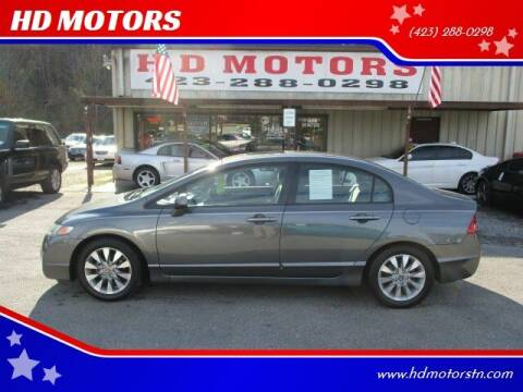 2010 Honda Civic for sale at HD MOTORS in Kingsport TN