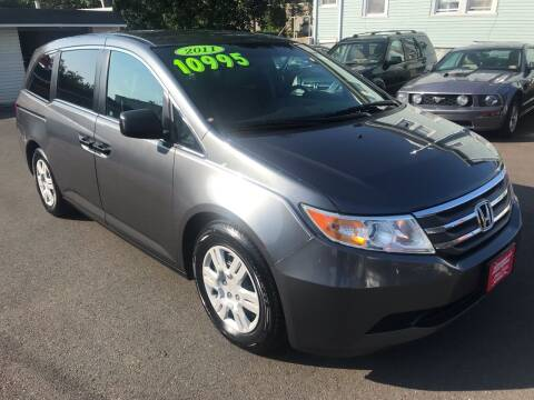 2011 Honda Odyssey for sale at Alexander Antkowiak Auto Sales in Hatboro PA