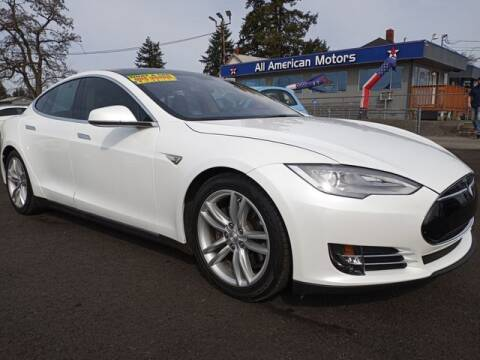 2013 Tesla Model S for sale at All American Motors in Tacoma WA
