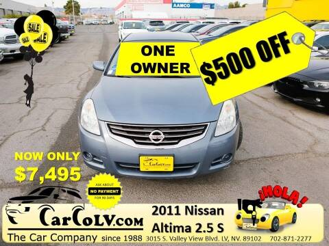2011 Nissan Altima for sale at The Car Company in Las Vegas NV