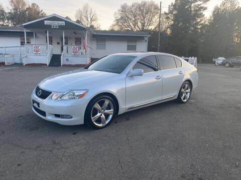 2007 Lexus GS 350 for sale at CVC AUTO SALES in Durham NC