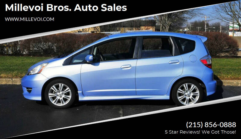2010 Honda Fit for sale at Millevoi Bros. Auto Sales in Philadelphia PA