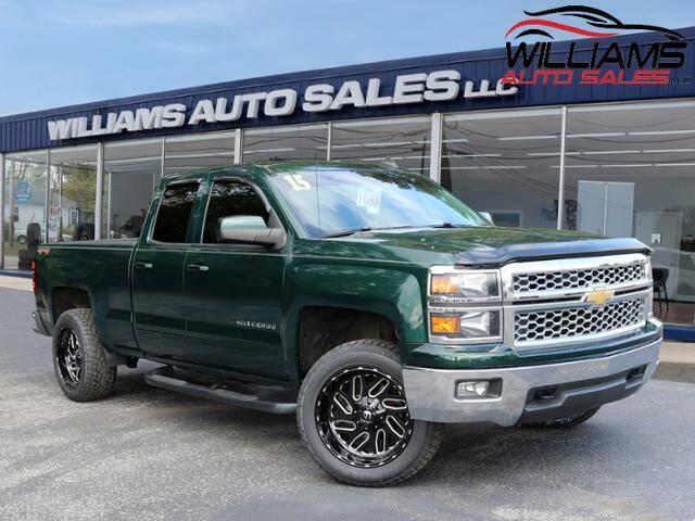 2015 Chevrolet Silverado 1500 for sale at Williams Auto Sales, LLC in Cookeville TN