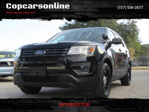 2017 Ford Explorer for sale at Copcarsonline in Largo FL