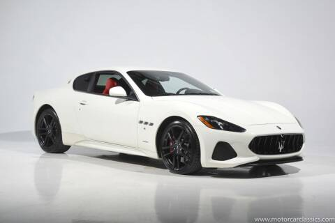 2018 Maserati GranTurismo for sale at Motorcar Classics in Farmingdale NY