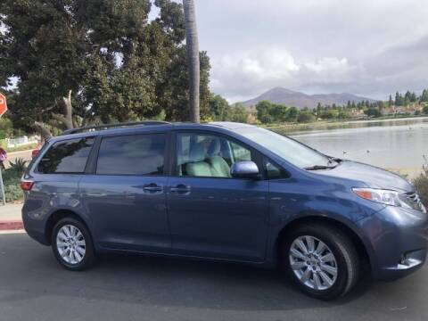 2017 Toyota Sienna for sale at CARS FOR YOU in Lemon Grove CA