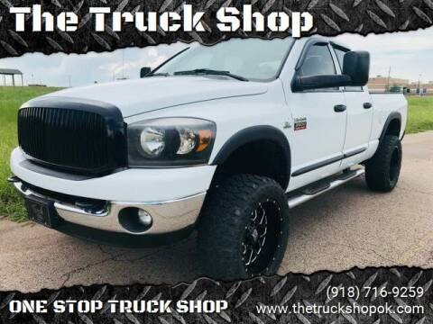 2008 Dodge Ram Pickup 2500 for sale at The Truck Shop in Okemah OK