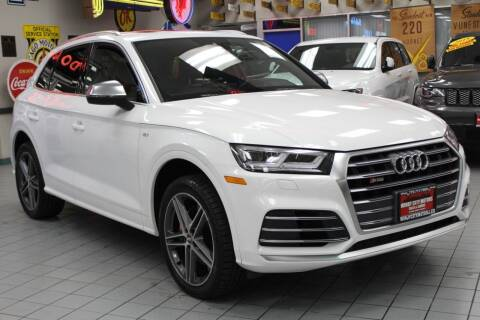 2018 Audi SQ5 for sale at Windy City Motors in Chicago IL