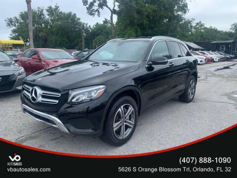 2018 Mercedes-Benz GLC for sale at V & B Auto Sales in Orlando FL