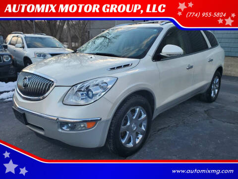 2009 Buick Enclave for sale at AUTOMIX MOTOR GROUP, LLC in Swansea MA