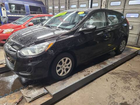 2013 Hyundai Accent for sale at Devaney Auto Sales & Service in East Providence RI