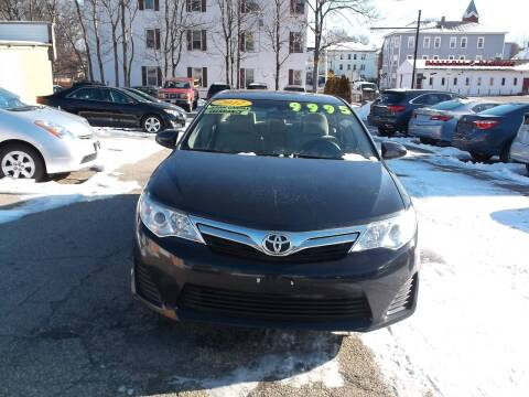 2012 Toyota Camry for sale at Sharp Auto Center in Worcester MA